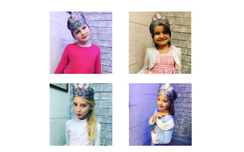 Precious princesses living at Father's House